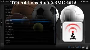 Top addons xbmc kodi 2015